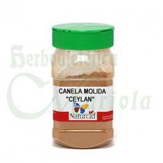 Naturcid, Canela Molida Ceylan, posee un intenso aroma, dulce y ligeramente picante, originaria de la zona de Ceylan muy utilizada para la preparación de postres y repostería