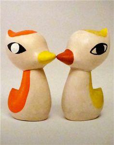 "Libuse Niklova ""Ducklings"" 1964 - midcentury kids design - vintage toys"