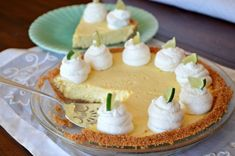 Light, Just Right Key Lime Pie — Three Many Cooks