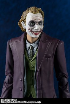 Official S.H. Figuarts Dark Knight Joker Images & Info