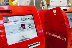 Nuestras máquinas de auto check-in