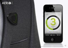 Aerio Air Quality Sensor by Nikolas Ethore