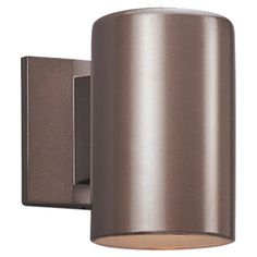 Outdoor Bronze Five-Inch One-Light LED Wall Lantern - $92.00