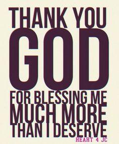 Thank You. thank you, thank you...