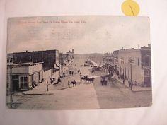 Vintage postcard street scene Colorado Avenue by NeatstuffAntiques, $35.00
