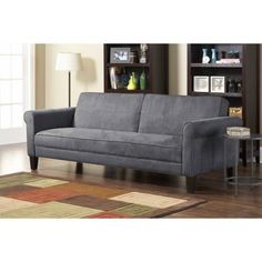 10 Spring Street Ashton Microfiber Sofa Bed - Walmart.com TOO LONG