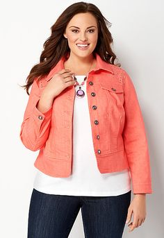 Bling Peplum Colored Jacket, 9-0036393106, Bling Peplum Colored Jkt Main View PDP