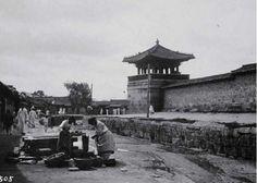 1906-1907년 경복궁 동십자각 근처