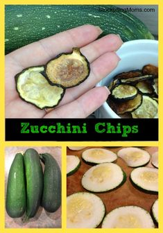 Zero points in these easy to make and delicious tasting zucchini chips
