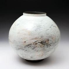 Moon Jar - Lee Kang-Hyo (Onggi Technique)