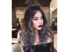 Pastel #Hair Colours for Teens – Show Off Your Wild Side: Grey
