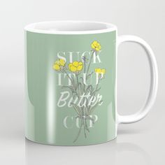 Shop for our premium ceramic coffee mugs, and add some artistic style to your hot and cold beverages from various artists from around the world in the Society6 community. Worldwide shipping available at Society6.com.