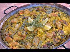 Paella Valenciana. Paso a Paso (Auténtica Paella Valenciana)