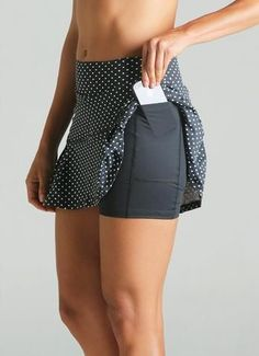 JoJo Skirt (Black Polka Dot)