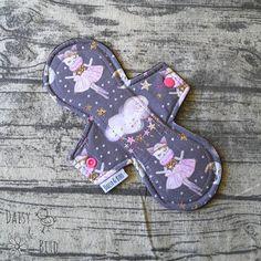23.5cm Cloth Pad  MODERATE Absorbency  Ballerina Cats