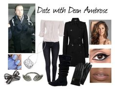 Date with Dean Ambrose by kelseyylove on Polyvore featuring Michael Kors, Burberry, Royal Spades, Steve Madden, Victoria's Secret PINK, Pink Mascara, Cole Haan, Deborah Lippmann, the shield and dean ambrose