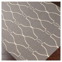 Found it at Wayfair - Fallon Gray/Ivory Area Rug