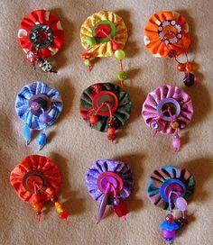 yoyo craft on Pinterest Yo Yo, Owl Sewing Patterns and Christmas Ornament