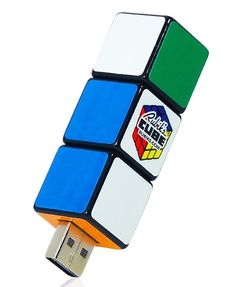 Rubik's Cube Rotating USB - from Rubik's Cube Craze - (Save Gadgets And Gizmos, Cool Gadgets, Tech Gadgets, Usb Drive, Usb Flash Drive, Cubes, Hub Usb, Must Have Gadgets, Lego