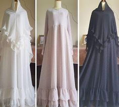 Sunna dresses – Best Of Likes Share Moslem Fashion, Niqab Fashion, Modern Hijab Fashion, Modest Fashion, Fashion Dresses, Dresses Dresses, Dresses With Sleeves, How To Wear Hijab, Hijab Evening Dress