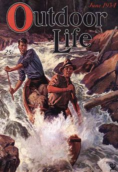 ... Sporting Whitewater Canoe Camping Hunting Poster New Printing | eBay