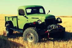 tweaked version of the Dodge Power Wagon by Legacy Classic Trucks