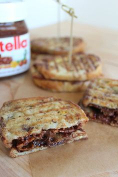 SWEET & SPICY BACON COATED WITH NUTELLA | comfort food | Pinterest ...