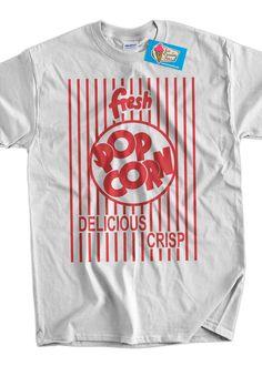 Funny Pop Corn Tshirt Fresh Pop Corn Tshirt Movies by IceCreamTees, $14.99