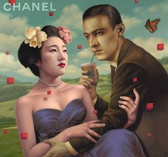 Alex Gross   Alex Gross is currently based in Los Angeles, California. In 1990, he received a BFA with honors from Art Center College of Design in Pasadena.