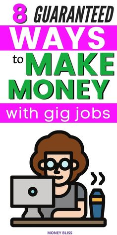 Need extra income? Need to make money fast? With this ultimate guide from Money Bliss on making money with a gig economy, you will learn how quick you can make cash. Find one of an easy and best gig economy jobs. Start your own business and freelance your labor. Work from home and have flexibility with your own side hustle. Pick which gig economy app to use. | Money Bliss