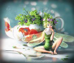 Pesky Fairy by pin100