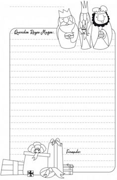 Original carta a los Reyes Magos