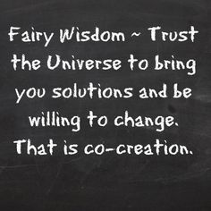 Fairy wisdom from Elizabeth Saenz from theexpandedgateway.com