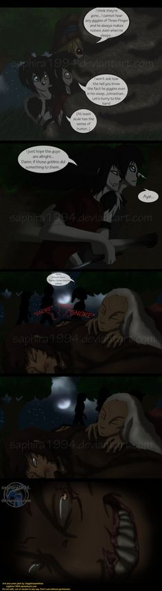 Adventures With Jeff The Killer - PAGE 146 by Sapphiresenthiss on DeviantArt