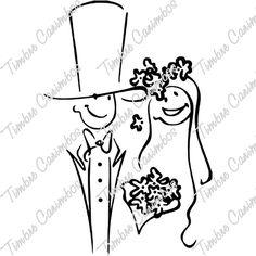 Casamento e Família : Carimbo Casamento e Família - Ref.: 2508