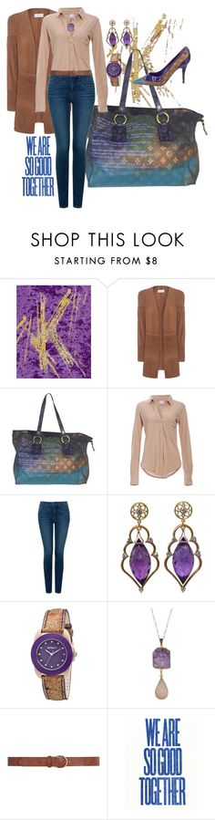 """Shopping trip"" by easy-dressing ❤ liked on Polyvore featuring Louis Vuitton, Bobi, NYDJ, Sprout, Valerie Nahmani Designs and Dorothy Perkins"
