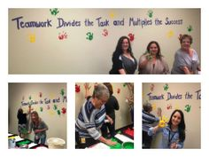 """Created a new break/game room for ATS employees and had an Open House to kickoff the fun! Employees """"left their mark"""" on our wall of fame. Learn more about ATS here: http://www.atsol.com/"""