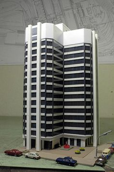 Custom Built from Scratch. Minecraft Modern, Minecraft Plans, Factory Architecture, Lego Architecture, N Scale Buildings, Minecraft City Buildings, Residential Building Design, City Layout, Architectural House Plans