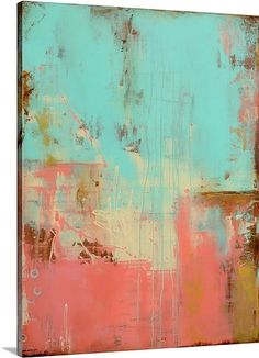 """Casa Marina"" abstract canvas print by Erin Ashley via @greatbigcanvas available at GreatBIGCanvas.com."