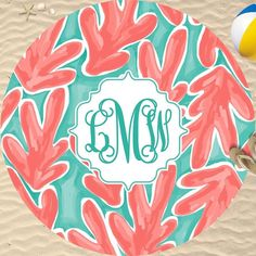 Are you getting beach fever from all this beautiful warm weather?!? Make sure you're #beach ready with our custom round towels! #sassysoutherngals #beachready