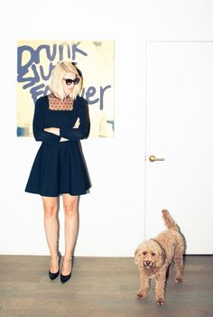 """""""[The advice I'd give to anyone who wants to start a career in the art industry is] intern!"""" http://www.thecoveteur.com/casey-fremont-crowe/"""