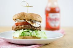 skinny bleu cheese buffalo burger