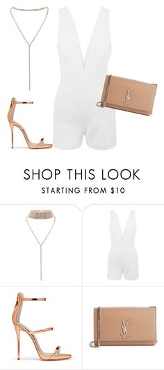 """""""213"""" by fashsetter-201 ❤ liked on Polyvore featuring La Perla, Giuseppe Zanotti and Yves Saint Laurent"""