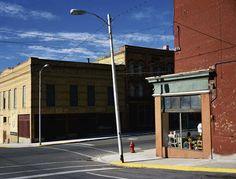 Wim Wenders: Street Corner Butte, Montana
