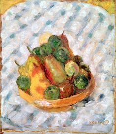 Pierre Bonnard - Fruits, 1902 (oil on canvas)