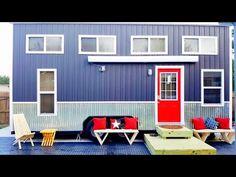 Manor Grey Relax Shack Tiny House - TINY HOUSE TOWN