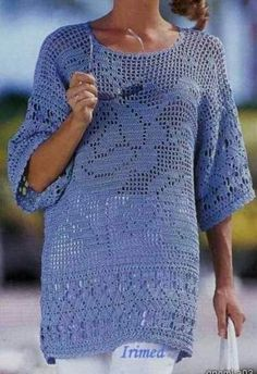 Picasa Web Albums. PICTURE ONLY. Crochet woman's top
