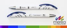 Plastikowe długopisy z nadrukiem metodą tampodruku www.merea.com.pl
