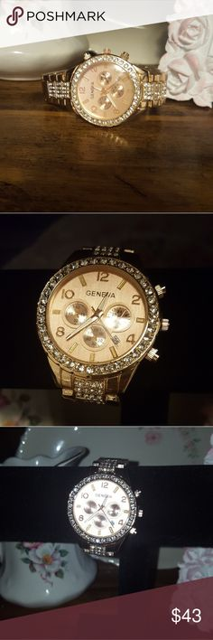 JUST ARRIVED♡ Beautiful women's watch! A little sparkle and very girly! NWOT Accessories Watches