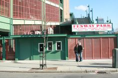Boston - Fenway Park (ds wore his Yankees hat there!) and the grass is KENTUCKY bluegrass.